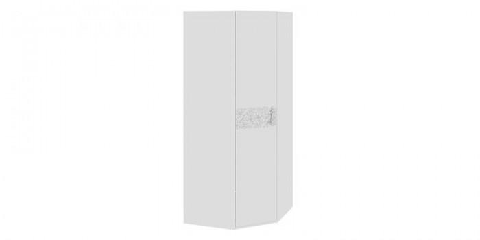 Купить шкаф распашной угловой давос белый матовый в москве з.
