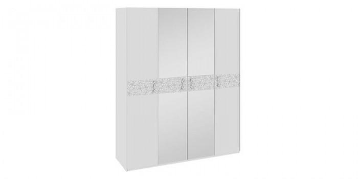 Купить шкаф распашной давос белый матовый в москве за 10 990.
