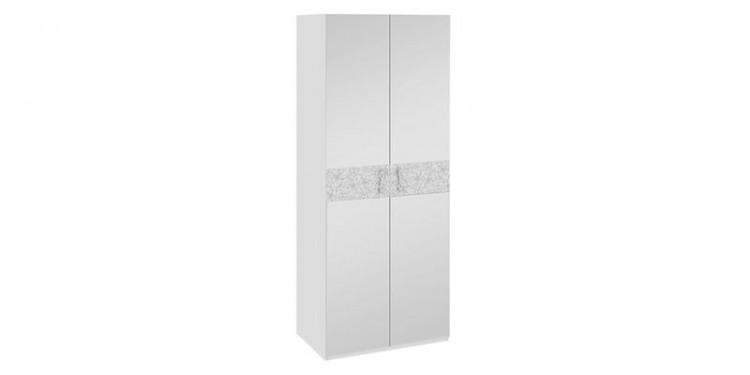 Купить шкаф распашной двухдверный давос белый матовый в моск.