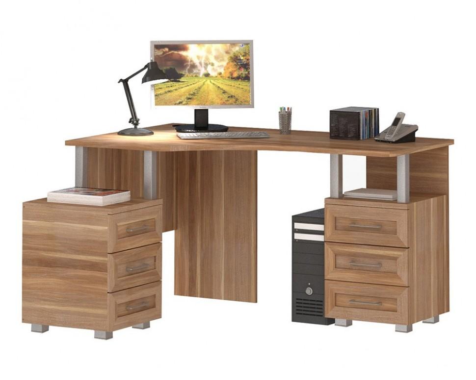Стол письменный, компьютерный соло-025 васко купить в нижнем.